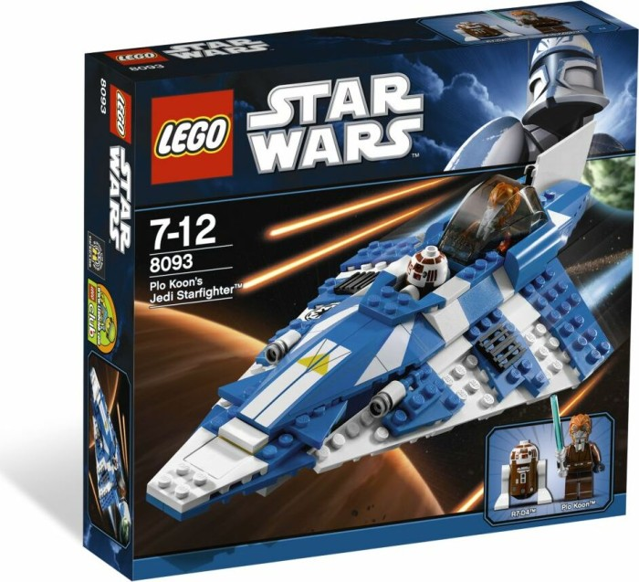 LEGO - Star Wars Clone Wars - Plo Koon's Jedi Starfighter (8093) -- via Amazon Partnerprogramm