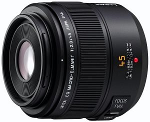 Panasonic Leica DG Macro-Elmarit 45mm 2.8 ASPH OIS schwarz (H-ES045E)