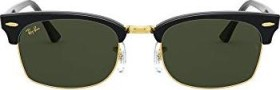 Ray-Ban RB3916 Clubmaster Square Legend Gold 52mm black/green classic (RB3916-130331)