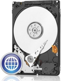 Western Digital WD Blue Mobile 1TB, SATA 3Gb/s (WD10JPVT)