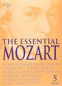 Wolfgang Amadeus Mozart - The Essential Mozart (DVD)