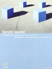 Borodin Quartet - Tschaikowsky & Shostakovich (DVD)