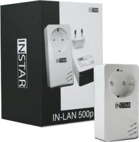 INSTAR IN-LAN 500p weiß, HomePlug AV, RJ-45 (100378)