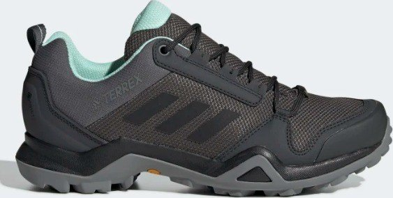 official photos low price sale on wholesale adidas Terrex AX3 GTX grey/core black/clear mint (Damen) (BC0573) ab € 75,57