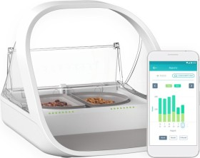 Sure Petcare SureFeed Connect Microchip PetFeeder Futterautomat, WLAN, App-Steuerung (iMPFWT)