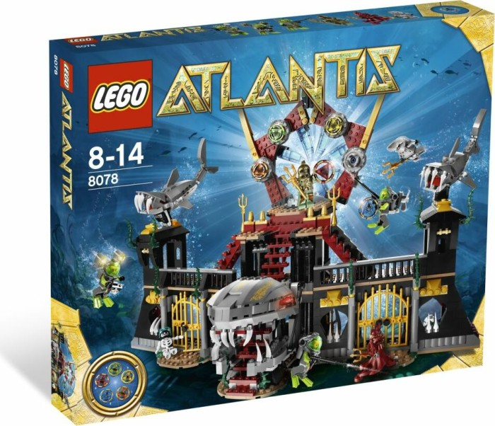 LEGO - Atlantis - Portal of Atlantis (8078) -- via Amazon Partnerprogramm
