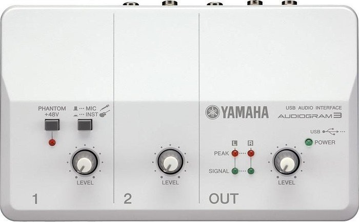 Yamaha Audiogram 3, USB