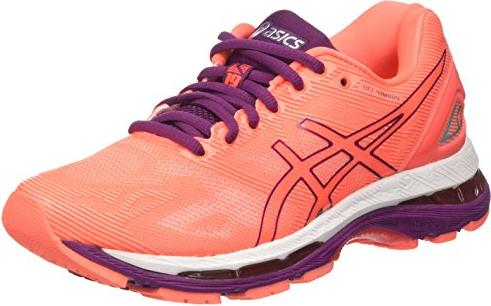 new products d16ad b8003 Asics gel-Nimbus 19 flash coral/dark purple/white (ladies) (T750N-0632)  from £ 103.99