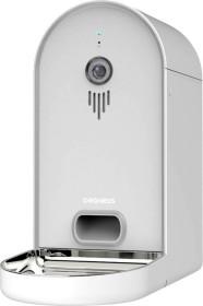 DOGNESS Smart-Cam Feeder Futterautomat für Katzen und Hunde, WLAN, HD-Kamera mit Nachtsicht, App-Steuerung, grau/weiß