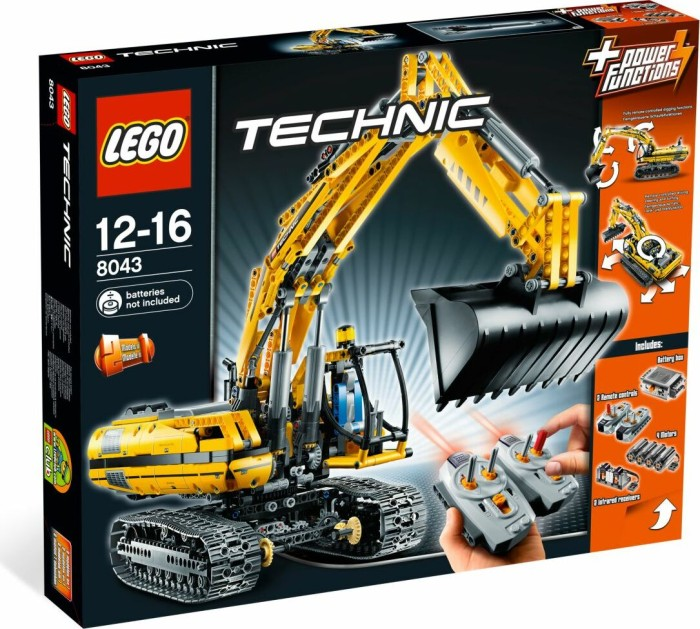 LEGO - Technic Construction - Motorized Excavator (8043) -- via Amazon Partnerprogramm