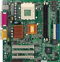 MSI MS-6568-LM, SiS740, VGA, LAN, µATX (DDR)