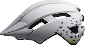 Bell Sidetrack II MIPS Helm stars gloss white