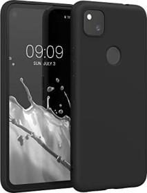 KWMobile Handy Case für Google Pixel 4a schwarz matt (52357.47)