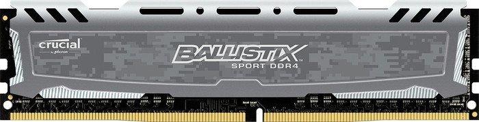 Crucial Ballistix Sport LT grau DIMM 16GB, DDR4-3000, CL16-18-18 (BLS16G4D30BESB)