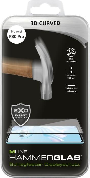 MLine 3D Curved Hammerglas für Huawei P30 Pro (MH0027)