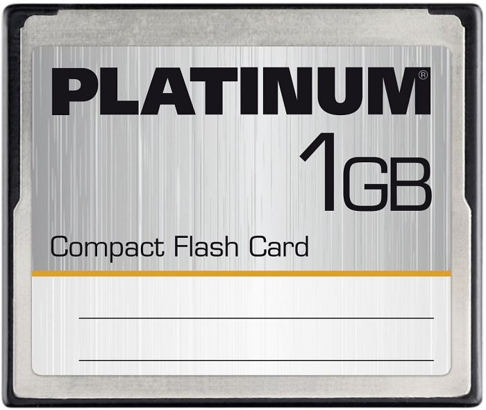 BestMedia Platinum CompactFlash Card (CF) 1GB (177004/177054)