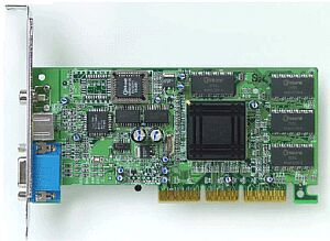 Sapphire Rage 128 Ultra, 32MB, TV-out, AGP