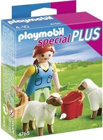 playmobil Special - Bäuerin bei Schäfchen-Fütterung (4765)