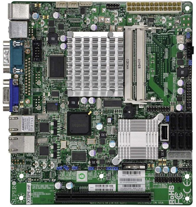 Supermicro X7SPE-HF-D525 retail (MBD-X7SPE-HF-D525-O)