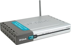 D-Link AirPlusG+ DI-824VUP+ VPN Router/Print Server