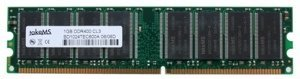 takeMS DIMM 1GB, DDR-400, CL3