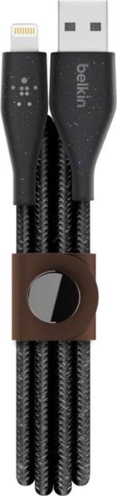 Belkin Duratek Plus USB-A/Lightning Adapterkabel 1.2m schwarz (F8J236bt04-BLK)