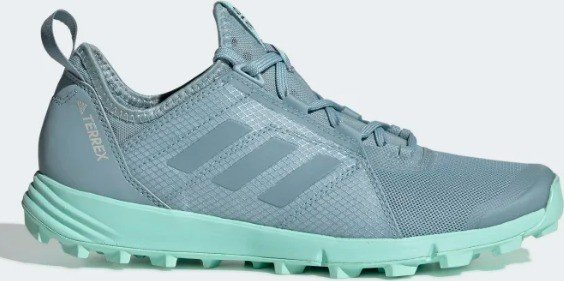 promo codes professional sale high fashion adidas Terrex Speed ash grey/clear mint (Damen) (BC0455) ab € 78,55