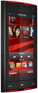 Nokia X6 16GB black/red