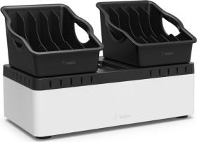 Belkin Multi-Ladestation mit Stauraum und tragbaren Behältern USB (B2B160VF)