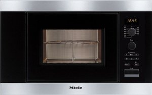 Miele M 8161-2 microwave with grill stainless steel