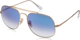 Ray-Ban RB3561 General 57mm gold/light blue gradient (RB3561-001/3F)