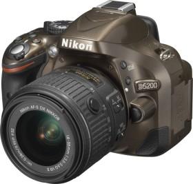 Nikon D5200 bronze mit Objektiv AF-S VR DX 18-55mm 3.5-5.6G II (VBA352K006)