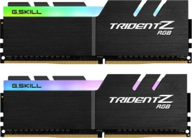 G.Skill Trident Z RGB DIMM kit 16GB, DDR4-4600, CL18-22-22-42 (F4-4600C18D-16GTZR)