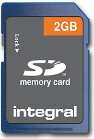 Integral SD Card 2GB (INSD2G)