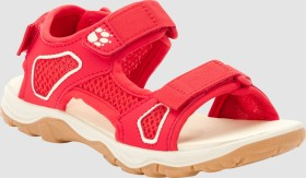 Jack Wolfskin Taraco Beach Sandal red/champagne (Junior) (4039531-2132270)