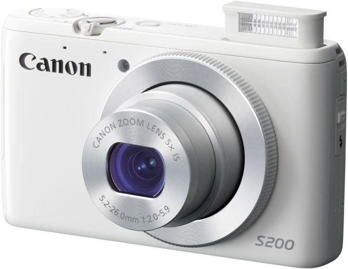 Canon PowerShot S200 white (8675B015)