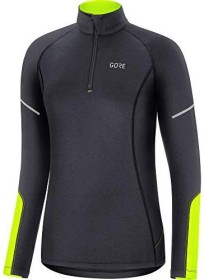 Gore Wear M Mid Zip Trikot langarm black/neon yellow (Damen) (100534-9908)