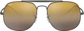 Ray-Ban RB3561 General 57mm gunmetal/brown gradient mirror (RB3561-004/I3)
