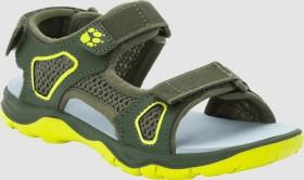 Jack Wolfskin Taraco Beach Sandal khaki/lime (Junior) (4039531-4286270)