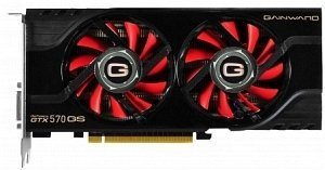 Gainward GeForce GTX 570 golden Sample 228mm, 1.25GB GDDR5, 2x DVI, HDMI, DisplayPort (2012)