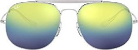 Ray-Ban RB3561 General 57mm silver/blue gradient mirror (RB3561-003/I2)