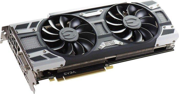 EVGA GeForce GTX 1080 SC Gaming ACX 3.0, 8GB GDDR5X, DVI, HDMI, 3x DisplayPort (08G-P4-6183-KR)