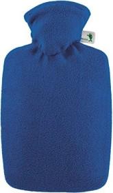 Hugo Frosch Klassik Fleecebezug Wärmflasche blau (0412)