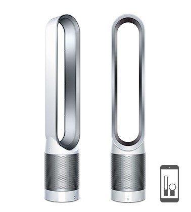 Dyson Pure Cool Link Tower oczyszczacz powietrza biały/srebrny -- via Amazon Partnerprogramm
