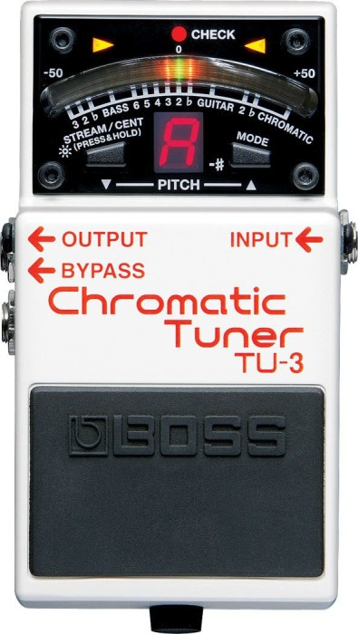 Boss TU-3 Chromatic Tuner Floor-Pedal