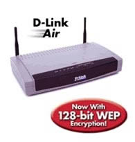 D-Link DI-713P Wireless Broadband Router mit Print-Server