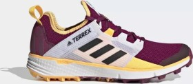 adidas Terrex Speed LD power berry/core black/solar gold (Damen) (FV2501)