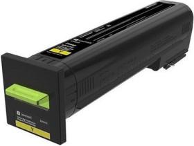 Lexmark Return Toner 82K2HY0 gelb hohe Kapazität