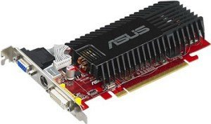 ASUS EAH3450/HTP/256M, Radeon HD 3450, 256MB DDR2, VGA, DVI, TV-out (90-C1CK10-H0UAY00Z)