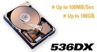 Maxtor 536DX 40GB, IDE (4W040H3)